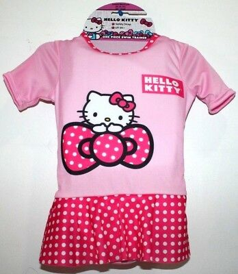 "Hello Kitty One Piece Swim Trainer Small/Medium 20-33 Lbs 20""Chest Girls"