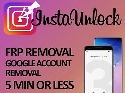 Remote Google Account Bypass Removal Reset Unlock FRP SAMSUNG G970F G975F G973F
