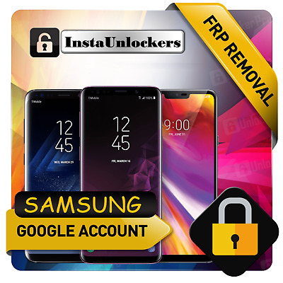 24h INSTANT Google Account Removal, Reset Unlock FRP SAMSUNG S10 S10+ S10e