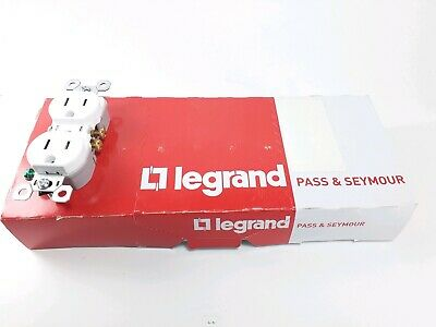 Legrand Pass & Seymour 3232TR-W Tamper Resistant  Duplex Receptacles 125V