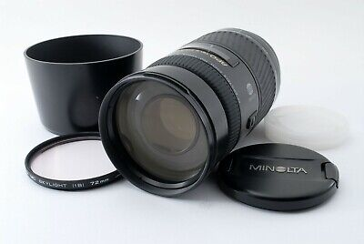 Minolta AF APO Tele Zoom 100-400mm F/4.5-6.7 Lens For Sony A Near Mint F/S #5073