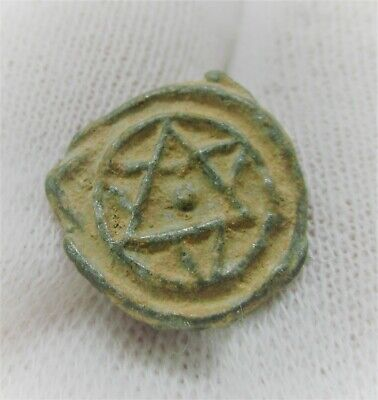 Detector Finds Ancient Seal With Pentagram Star Very Interesting
