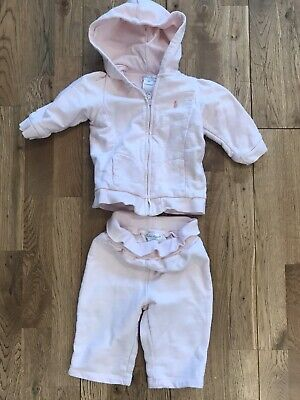 RALPH LAUREN Baby Girls Tracksuit Pink__Age 9 Months