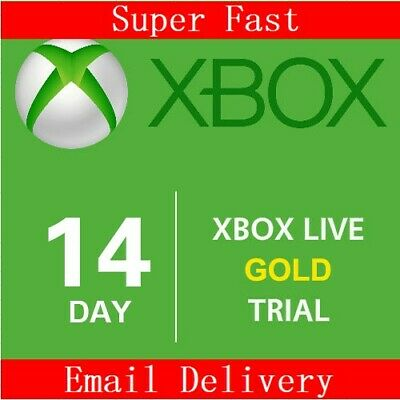 Xbox Live 14 Day Gold Trial Xbox One 2 Weeks Gold ~ GLOBAL ~ Instant Delivery