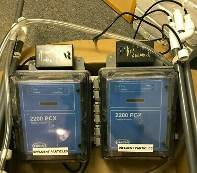 HACH 2200 PCX Water Particle Counter with Flow Control Weirs