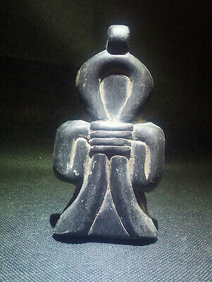 EGYPTIAN ANTIQUE ANTIQUITIES Amulet Amuletic Figure Pendant 1549-1136 BC