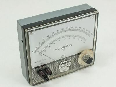 Weston Model 911 DC Milliamperes Meter 10MA~1000A
