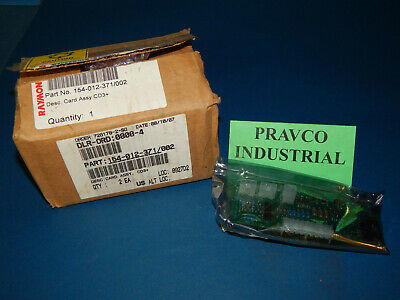 Raymond 154-012-371/002 Card Assembly Circuit Card 154012371002