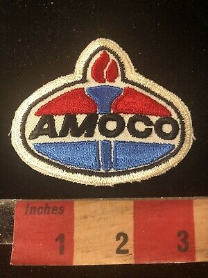 Vtg AMOCO Gasoline / Oil Industry Patch 80B4