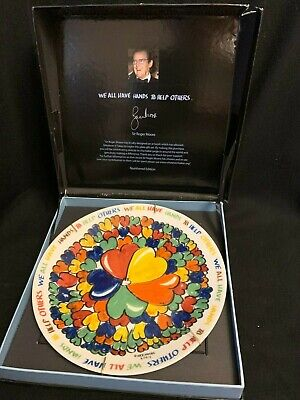 Sir Roger Moore Whatever It Takes Collectors Plate Churchill