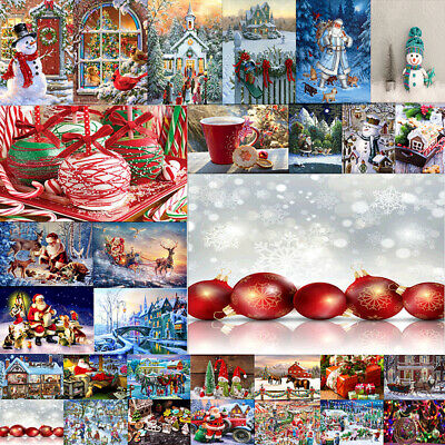 Full Drill 5D Diamond Painting Embroidery Stitch Christmas Holiday Gift  Deco UK
