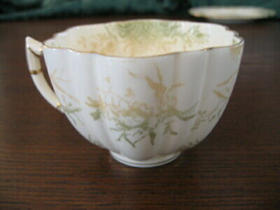 Rare Antique Wileman Pre- Shelley 1890'S Daisy Shaped Spare Cup