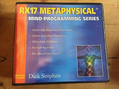 Nightingale  Conant Rx17 Metaphysical Mind Programming Series Dick Sutphen Cds