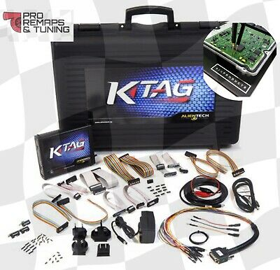 Alientech Ktag Slave Bench Remapping, Chiptuning Tool, 100% Genuine!