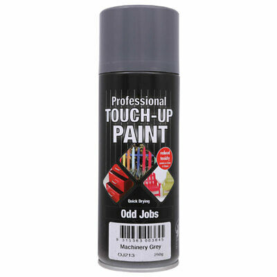 NEW Professional Touch Up Paint Machinery Grey Aerosol 250g