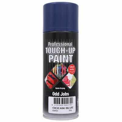 NEW Professional Touch Up Paint Ocean Blue Aerosol 250g