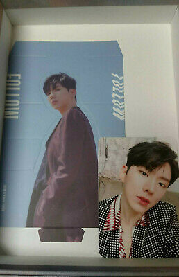 2 pc Monsta X Kihyun official photocard and standee Follow Find You Version 1