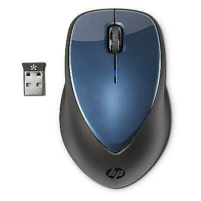 HP x4000 Wireless Mouse | Laser Sensor | Winter Blue | Brand New | Authentic HP