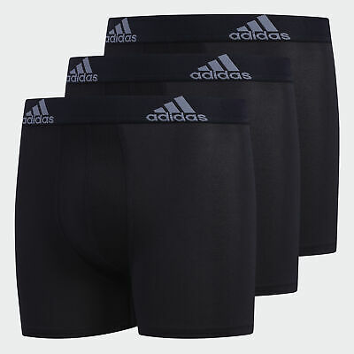 adidas Perforated Climalite Boxer Briefs 3 Pairs Kids'