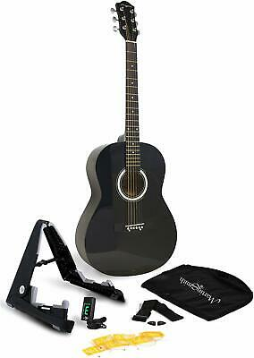 Martin Smith 6 Acoustic Superkit Stand, Tuner, Bag, Strap, Picks, And Guitar Str