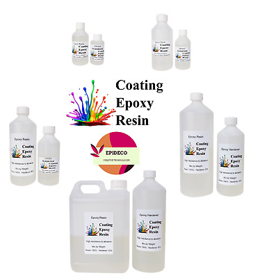 Epoxy Resin Starter Kit Clear Art 150g/250g/500g/1kg/2kg/3,5kg/5kg Fast Cure