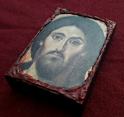 Ηoly icon of Jesus Christ Pantocrator of Sinai orthodox greek wood icon