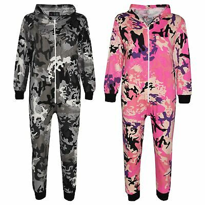 Kids Girls Boys Designer's 100% Cotton Camouflage A2Z Onesie One Piece Jumpsuit