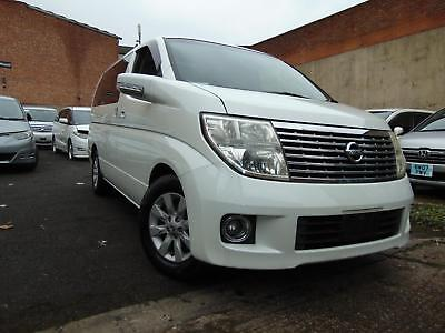 NISSAN ELGRAND X Leather 3.5 V6 Automatic 8 Seater MPV Alphard Estima 4WD