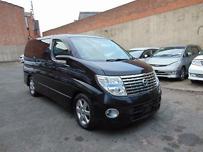 NISSAN ELGRAND RIDER 3.5 V6 Automatic 8 Leather Seats Sunroof LOW MILAGE34k