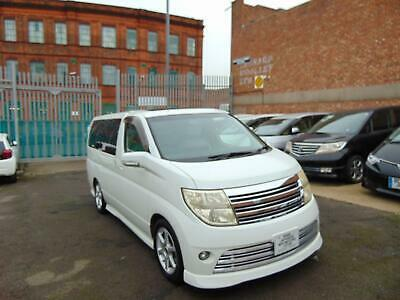 2006 NISSAN ELGRAND RIDER 3.5 V6 Automatic 8 Leather Seats Alphard Estima 4WD