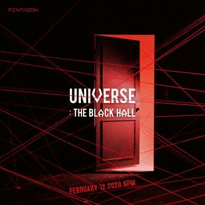 [Free Shipping] Pentagon 1St Full Universe: The Black Hall Downside V. Pc+Poster