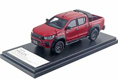 Hi Story 1/43 Toyota HILUX TRD customized 2017 Crimson spark Red Metallic finish