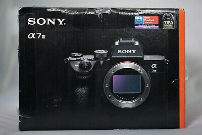 NEW Sony Alpha a7 III Mirrorless Digital Camera (Body Only)  ILCE7M3/B