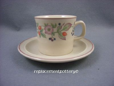 Wedgwood Roseberry cup and saucer.