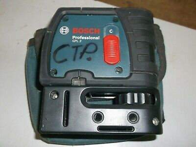 BOSCH Professional GPL 2 - 2 Point Self Leveling Laser Level w/ case