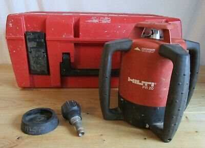 Hilti Rotating Laser Level PR 20 with Case