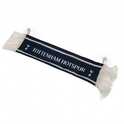 Tottenham Hotspur FC Official  Mini Scarf Car Hang Up With Rubber Suction Pads