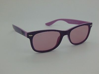 New Ray Ban Jr. RJ 9052S 179/84 New Wayfarer Lavender/Pink Kids Sunglasses