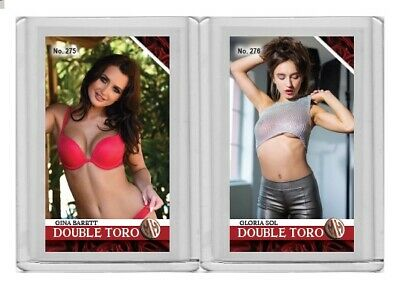 Gloria Sol rare MH Double Toro #'d 3/3 Tobacco card no. 276