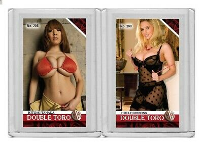 Holly Gibbons rare MH Double Toro #'d 1/3 Tobacco card no. 298
