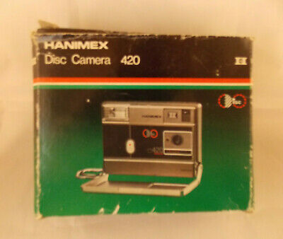 Hanimex 420 Disc Camera Boxed with Manuals