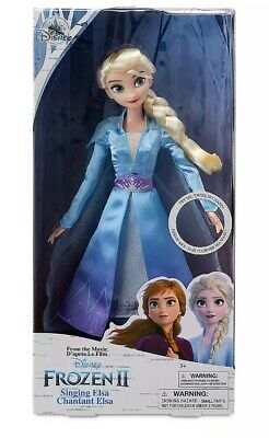 Disney Frozen 2 Elsa Doll With Long Blonde Hair And Movie Outfit 2019