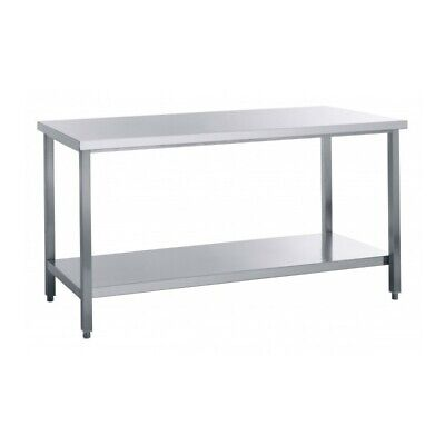Table Work Steel without Tier - Width 200 CM