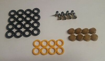 Fuel Injector Repair Service Kit Seals Filters Pintle Caps 1600CC  CSKBO18CNG