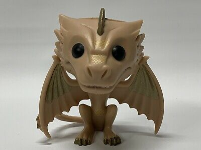 Funko Pop! Game Of Thrones GOT #22 Viserion Tan Dragon Rare Hot Topic OOB 2013