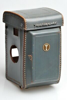 Leather Eveready Case for Yashica 44A in Excellent Condition - Grey!