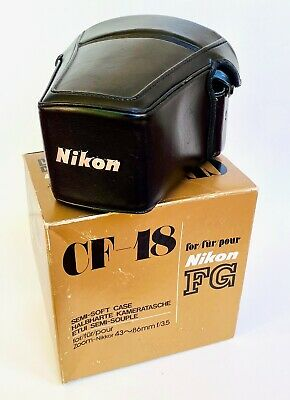 Nikon CF-18 Semi-Soft Case for Nikon FG w/ 43-86mm Lens (or similar)