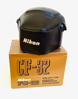 Nikon CF-32 Case for FG or FG20 35mm Camera. Made in Japan