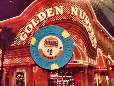 Golden Nugget Hotel Casino - $1 Gaming Chip - Las Vegas Nv - Newest Issue