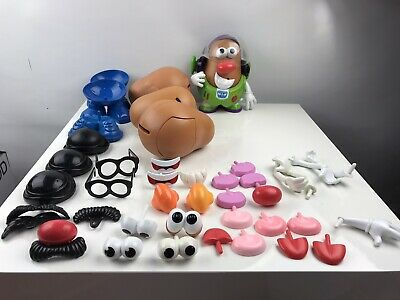 MR POTATO HEAD Bundle 4 Potato Head 49 Accessories buzz lightyear